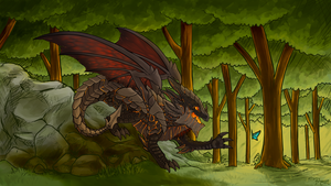 Deathwing by Dragoreon