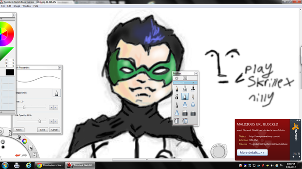 WIP TWO robin by funboy118