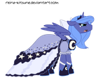 Young Luna - Lunar Gown by Reina-Kitsune