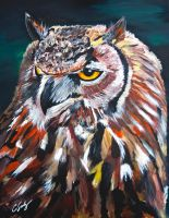 Great Horned Owl by dx