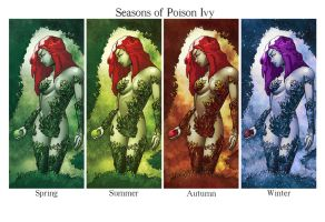 Seasons Of Poison Ivy by j2Artist