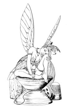 Tinkerbell ink by cehnot