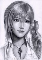 Serah Final Fantasy XIII by B-AGT