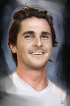 Christian Bale by RobynTrower