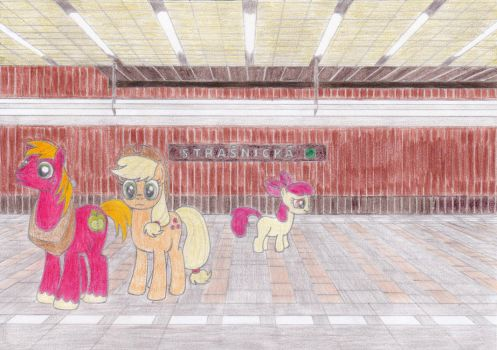 Apple family at Strasnicka by Tails-CZ