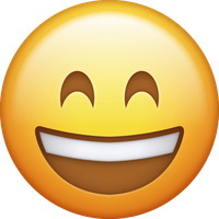 Emoji Icon - Happy large by Take-Out-The-TrashXD