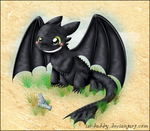 Toothless by Isi-Daddy