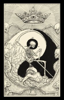 Death ( Tarot Card ) by erikemiranda