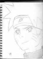 Naruto- close up by DradonX90