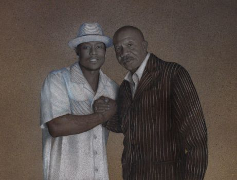 C Rich and Lenny Williams by henderson