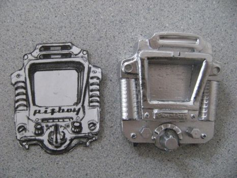 Fallout Pipboy watch sized Liberty Prime p by Brashsculptor