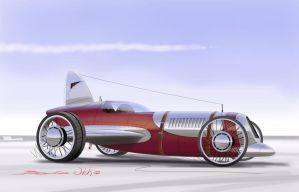 Spitfire Racer Concept by berniewalsh