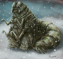 Giuseppe the Ice Alien by thesadpencil