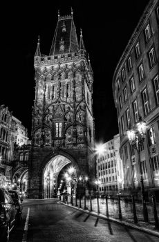 Prague - Powder Tower by pingallery