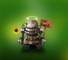 Bad Robot by Dithpicable