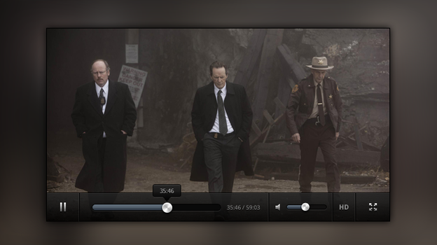 Video Player Free .PSD by emrah-demirag