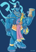 Lord Shiva the destroyer by spicemaster
