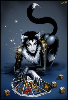 Mr. Mistoffelees by Candra
