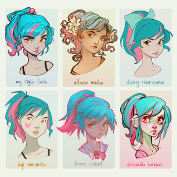 Style Challenge by loish