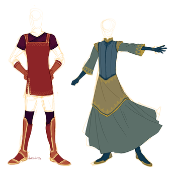 manly dresses by FastPuck