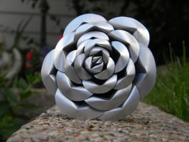 Recycled Pop Can Rose-Purple5 by Christine-Eige