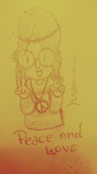 Peace and Love by Karmo007