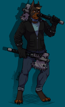Nathan [comm] by MadDogVII