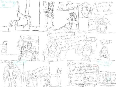 The meeting chapter 1/page 1/part 1 (sketch) by TwilightSpr