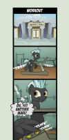 Comic - Workout by Helmie-D