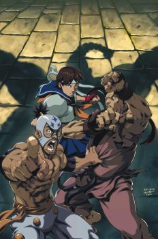 Street Fighter IV 2B by UdonCrew