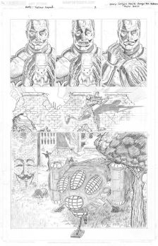 Yellow Squad Pg2 Pencils by klerkh