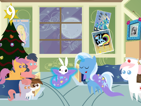 2014 Advent Day 9 by bronybyexception