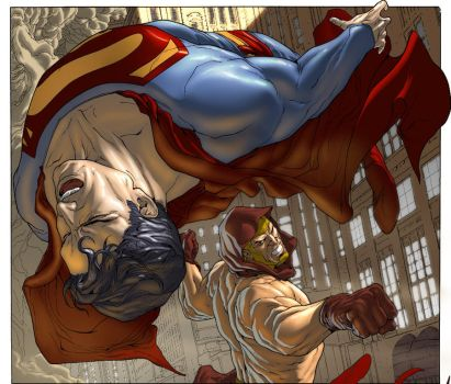 Guedes Superman color by loquesunalex