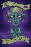 Welcome to Night Vale clean ver by RhodArt