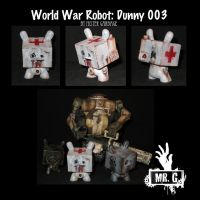 World War Robot - Dunny 003 by mistergarbage