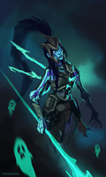 Kalista by fivetinsoldiers