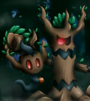 -PM Ghost trees- by Biko97