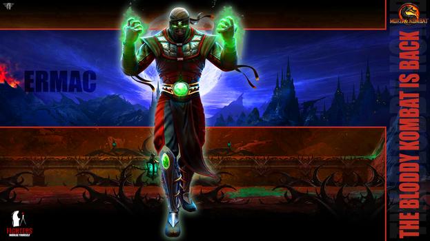 Ermac wallpaper by fightersnetwork