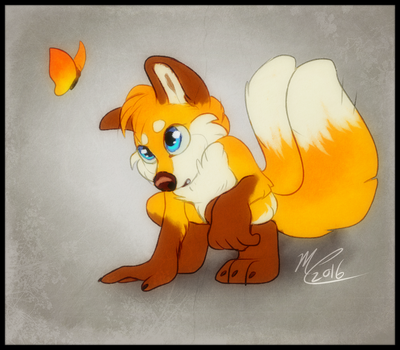Tails style experiment by Flora-Tea