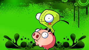 Gir and Pig. by EpidemicPandmonia