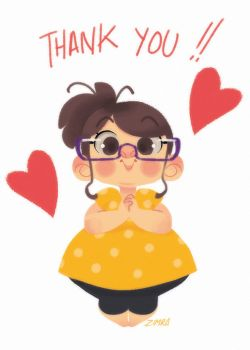 Thank you ^^ by zimra-art