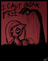 The Darkness Pulling you Down by 8-Blit-Poni