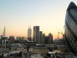 London Sunset by oraqle