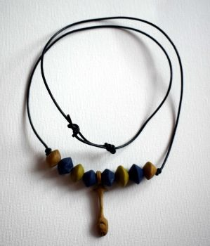 Nefer necklace by PoetaImmortalis