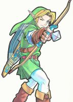Link (Ocarina of Time) by arttoinfinity