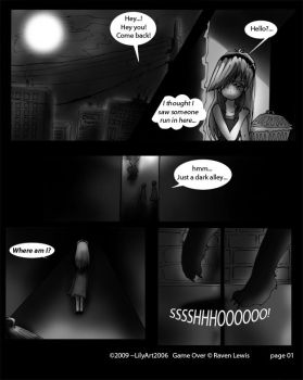 Game Over pg001 by LilyArt2006