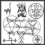 Witchcraft-Sigils PS-Brushes.. by Villenueve