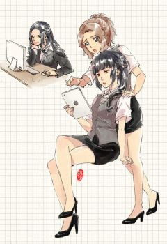 Office Angels by kelly1412