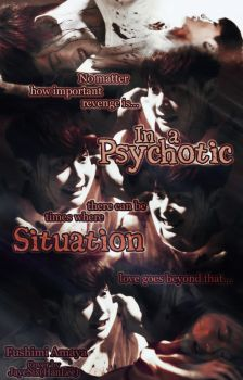 (wattpad cover) In a Psychotic Situation by jLpanganiban