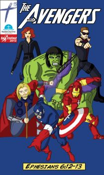 Sportsfest 2012 Team Theme - The Bible Avengers by electricTurbine